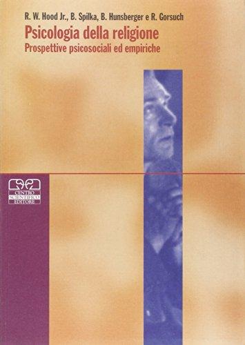 Psicologia della religione. Prospettive psicosociali ed empiriche