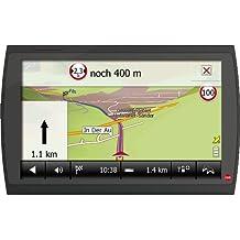 Falk Neo 640 LMU Camper Navigationssystem (15,2 cm (6 Zoll) Display, Kartenmaterial für 45 Länder, Lebenslange Kartenupdate, 3D Fahrspurassistent) schwarz