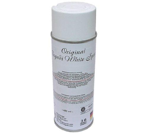 Original Begadi - White - Acryl Lack / Sprühlack 400ml (matt, stark deckend)