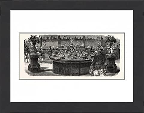 Framed Print of Expo Industry, 1855. Service table ordered from Mr. Christofle, by the Emperor