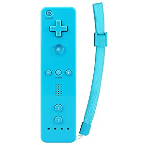 Prous XW02 Wireless Wii Remote Controller And Nunchuk Controller Multiplayer Wii U Pro Gamepad With Silicone Case And Wrist Strap For Nintendo Wii And Wii U