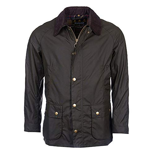 Barbour Ashby Contemporary Wax Jacket OLIVE XL -