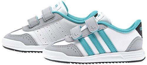 adidas Vs Dino Inf, Chaussures Mixte Bébé Blanc / Vert (Ftwbla / Verimp / Onicla)