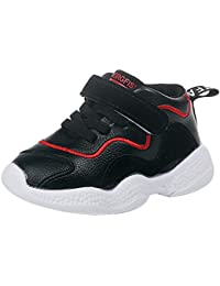 BBestseller Zapatillas de Running Niños Invierno Velcro Transpirable Impermeable Zapatos Deportivas para Interior para Niñas Shoes Sneakers