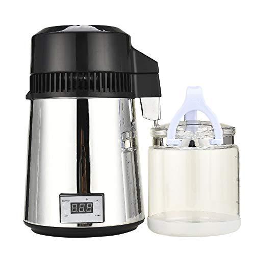 Fayelong 4L / 1Gal Moonshine Still Kit Alkoholbrenner Wasserbrenner Mit Anschluss Flasche Hause Brauen Weinherstellung Kit -