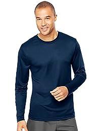 Hanes Men's Cool Long-Sleeve Performance T-Shirt