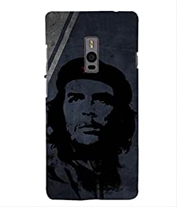 For OnePlus Two -Livingfill- Che Guevara Printed Designer Slim Light Weight Cover Case For OnePlus Two (A Beautiful One of the Best Design with a Classic Theme & A Stylish, Trendy and Premium Appeal/Quality) (Red & Green & Black & Yellow & Other)