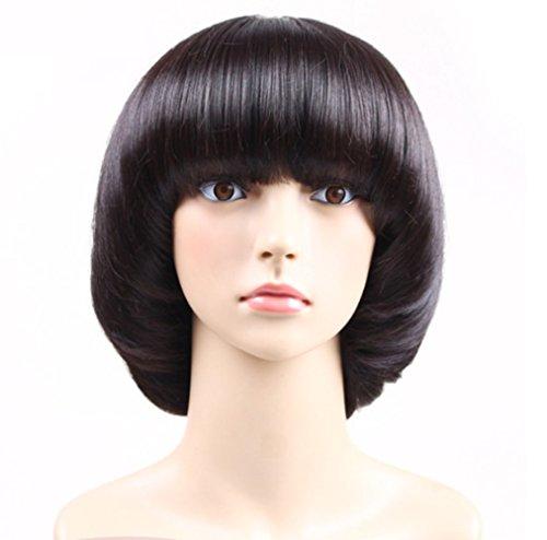YZ-YUAN Perücke Damen Damen Kurze Bob Haarteil Kostüm Cosplay Perücken Pop Party Kostüm (Pop Haarteile)