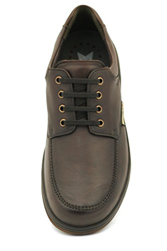 Mephisto Mens Douk Leather Shoes brown
