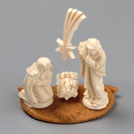 Miniatures figures de crèche, 5 pièces, hauteur 2 cm
