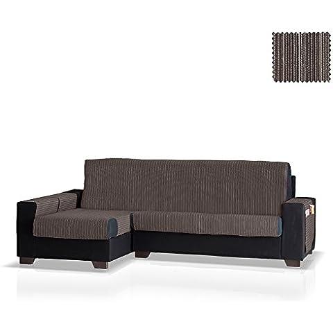 Cubre sofá Chaise Longue Rino, Brazo Izquierdo, tamaño normal (243 Cm.), Color 16 (varios colores
