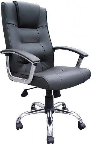 melbourne-high-back-black-leather-faced-executive-office-chair