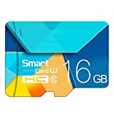 Memory Card, Flash Card TF Microsdhc Scheda di Memoria da 128 GB 64GB 32GB 16GB 80Mb / S Class10 U3 U1 SDXC Grade Evo + Micro SD Memory Card,16GB