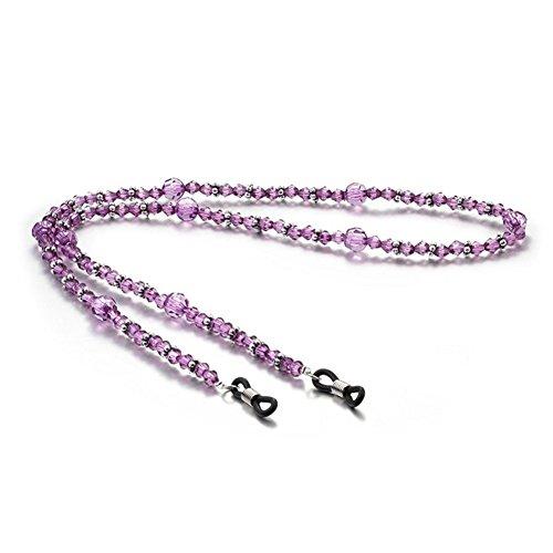 Hacoly Acryl Perlen Brillenband Kordel Brillenketten für Damen Kinder Brillen Seil Accessoire...