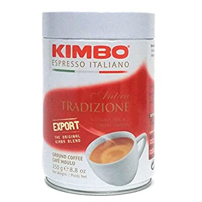 Kimbo Espresso Antica Tradizione Export Ground Coffee - 250g Tin by AAA