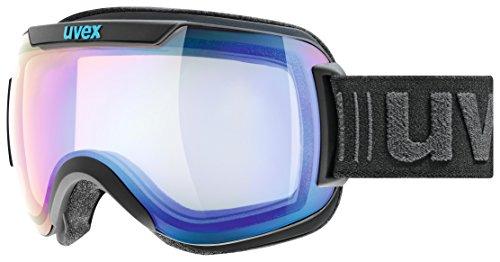 Uvex Downhill 2000 VFM Skibrille, black mat, One size