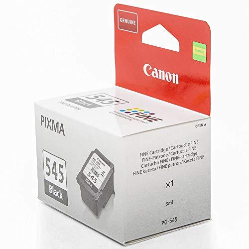 Original Canon 8287B001 / PG-545, für Pixma MG 3050 Series Premium Drucker-Patrone, Schwarz, 180 Seiten, 8 ml