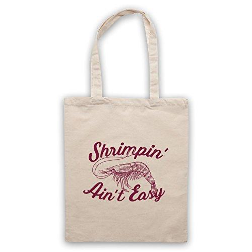 Shrimpin' Ain't Easy Shrimp Parody Slogan Umhangetaschen Naturlich