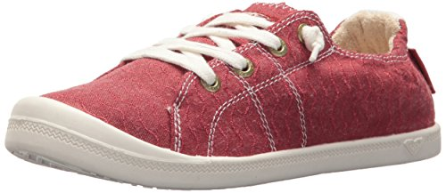 Slip on Shoe Sneaker Turnschuh, rot, 36.5 EU ()