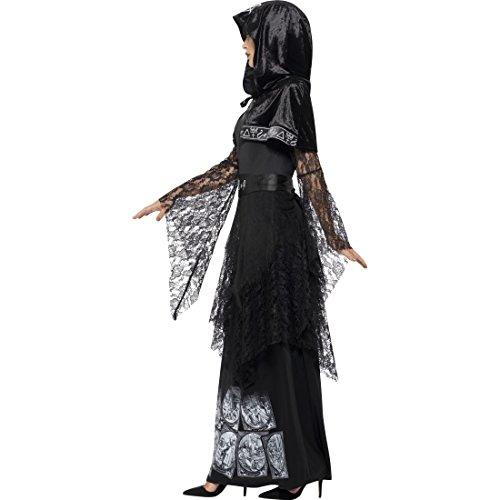 Imagen de vestido maga oscura  xl es 48/50 | disfraz bruja malvada | traje ocultista mujer | vestido hada mala alternativa