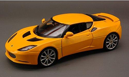 lotus-evora-s-ips-2011-yellow-124-burago-auto-stradali-modello-modellino-die-cast