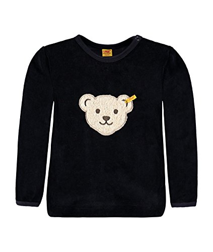 Steiff Collection Steiff Unisex - Baby Sweatshirt Classics Nicky 0002881, Gr. 56, Blau (marine 3032)