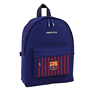 FCB FC Barcelona niños Equipaje, Azul, 43 cm