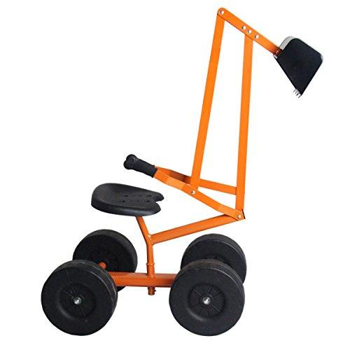Sitzbagger Schaufelbagger Kinderbagger Sandkastenbagger Sandbagger Sandkasten Metallbagger