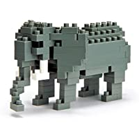 Nanoblock - Nbc-035 - Jeu De Construction - African Elephant