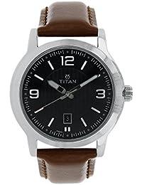 Titan Neo Analog Black Dial Men's Watch-NK1730SL02