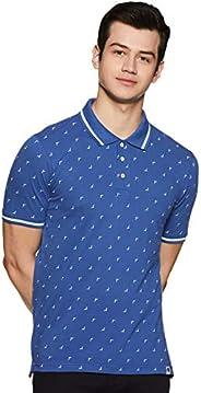 Amazon Brand - Symbol Men's Printed Regular fit