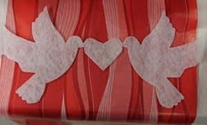 Girlande tauben 2 2m deko basteln girlande ranke dekoranke for Raumdekoration hochzeit