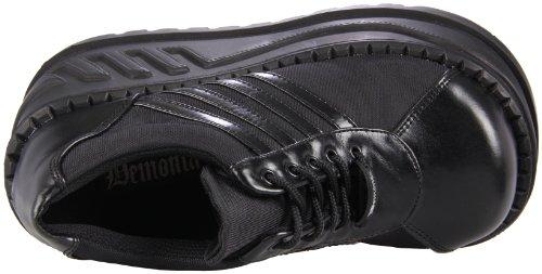 Demonia Damen Stomp-08 Oxford Schwarz (Schwarz (Blk Vegan Leather))