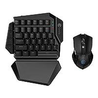 GameSir Z2, GameSir GM180 One Handed Gaming Keypad & Wireless E-sport Gaming Mouse Set