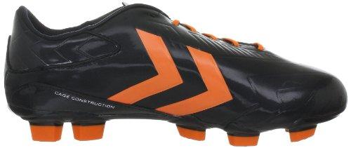 Hummel Rapid Blade - Pu 61-109-2820 Unisex - Erwachsene Sportschuhe - Fußball Schwarz (BLACK/GOLDEN POPPY 2820)