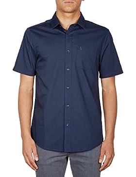 Camisa manga corta Volcom – Everett Solid S/s azul