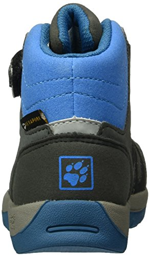 Jack Wolfskin 4016782, Scarpe Alte da Arrampicata Unisex Bambini Grigio (Grey/Blue)