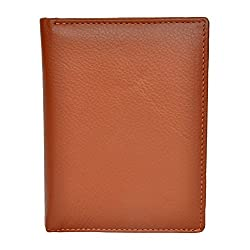 Chandair Pure Leather Tan Mens Wallet (W-7010)