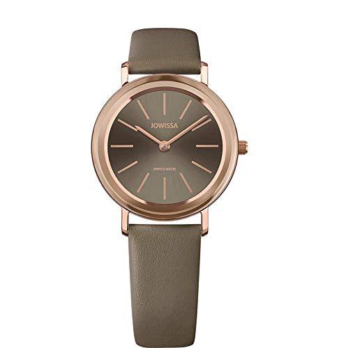 Jowissa Alto Swiss J4.390.M - Reloj de Pulsera para Mujer, Color marrón y Rosa