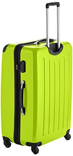 HAUPTSTADTKOFFER - Alex - Hartschalen-Koffer Koffer Trolley Rollkoffer Reisekoffer Erweiterbar, 4 Rollen, 75 cm, 119 Liter, Apfelgrün - 2