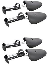 SHOESHINE INDIA Men's Stretcher Shoe Support(Black) - Pack of 2
