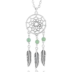 "Mehrunnisa ""Dream Catcher"" Pendant Long Necklace For Girls / Women (JWL1273)"