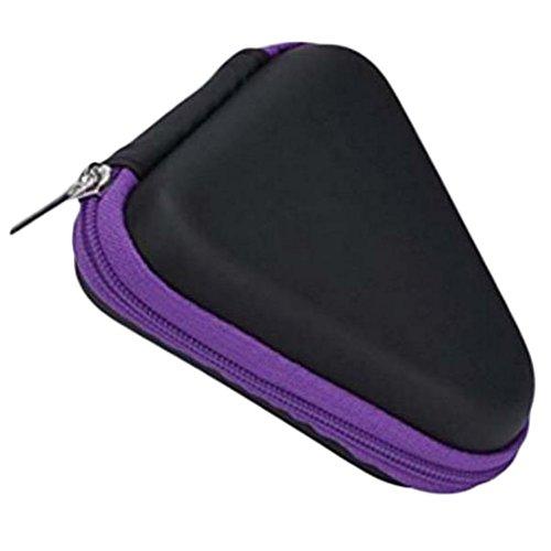 Preisvergleich Produktbild Demarkt Fidget Spinner Box Hand Spinner Box Staubdichtes Gehäuse für Handspinner lila 9 * 3.5cm