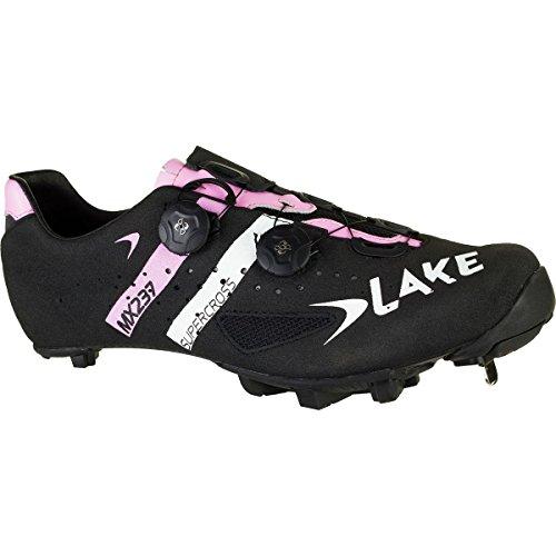 Lake MX237MTB/Cyclocross Carbon schwarz/rosa Schuh, 50