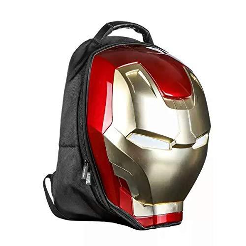 Student Bag 3D Iron Man Rucksack Mode Cartoon Rucksack Jungen Casual Tasche