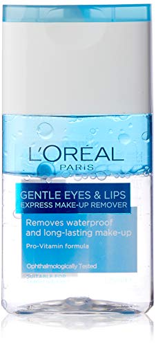 L'Oreal Paris Dermo Expertise Lip and Eye Make-Up Remover, 125ml