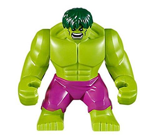 Hulk - Giant, Magenta Hose, Dunkelgrünes Haar LEGO Minifigure