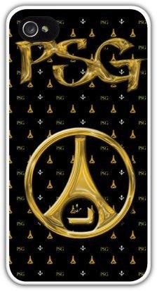 COQUE PERSONNALISEE PARIS SAINT GERMAIN PSG IPHONE 4/4S NEUF PRENOM