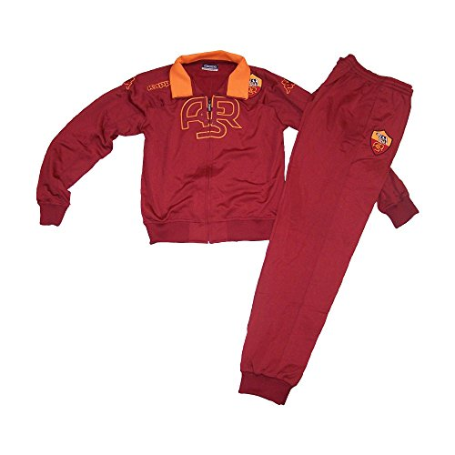Kappa AS Rom Trainingsanzug Kinder, Farbe:Rot, Kinder Größen:140