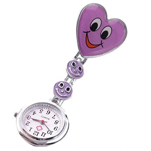 gleader-reloj-tipo-enfermera-cuarzo-esfera-redondo-corazon-risa-color-purpura